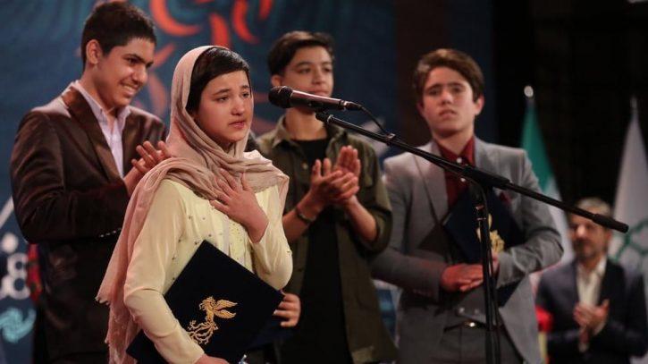 حضور شمیلا شیرزاد، کودک کار مهاجر افغان در جشنوارۀ بین المللی فیلم ونیز